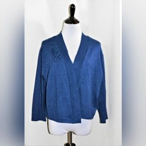 NWT 89th & Madison Nantucket Open Sweater Cardigan